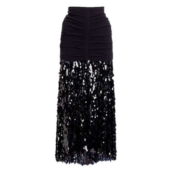 Rachel comey tears sequins glare a line skirt
