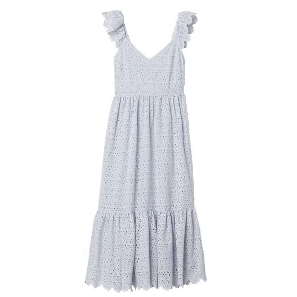 H m embroidered dress