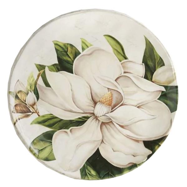 Pier 1 imports magnolia ceramic salad plate