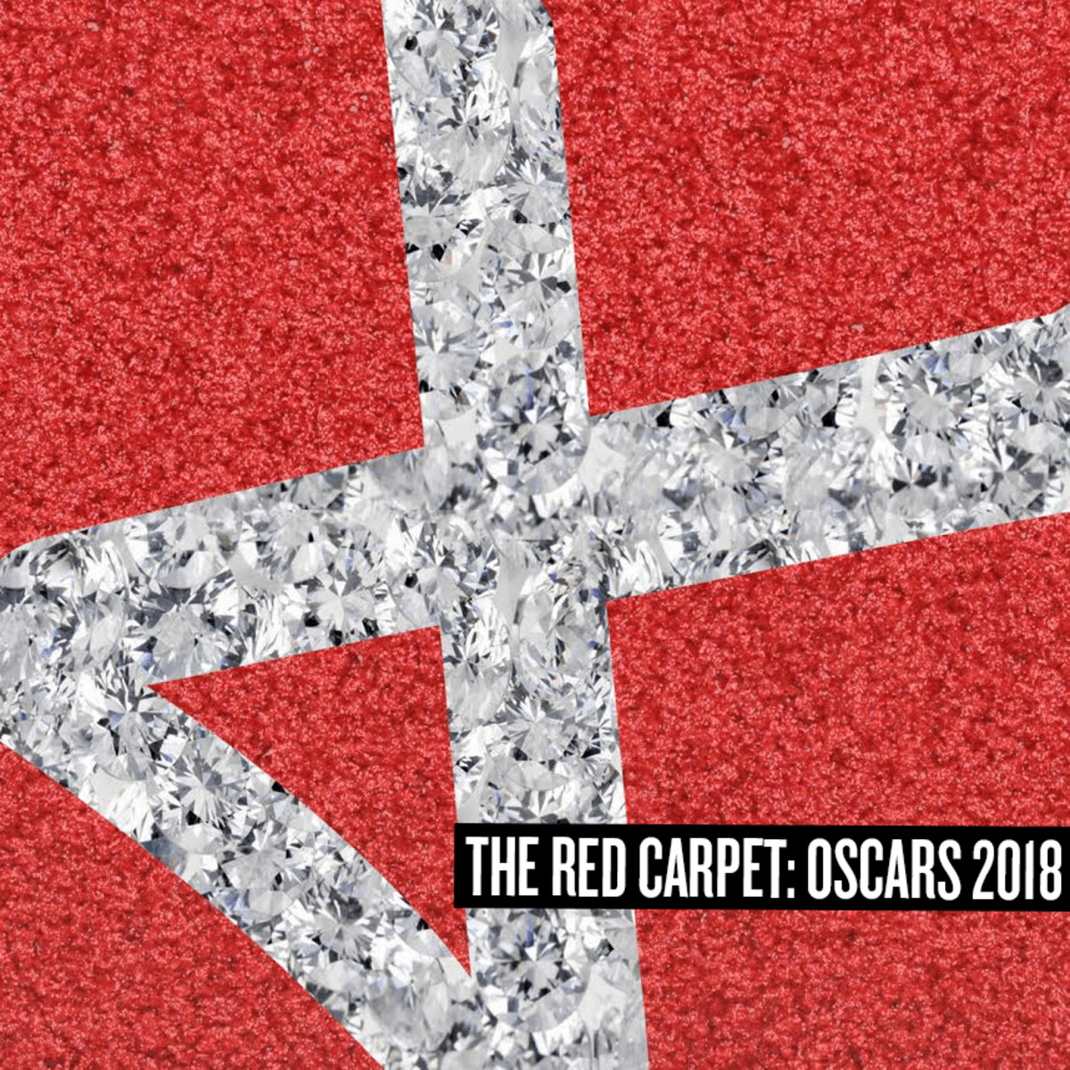 Square red carpet osscars