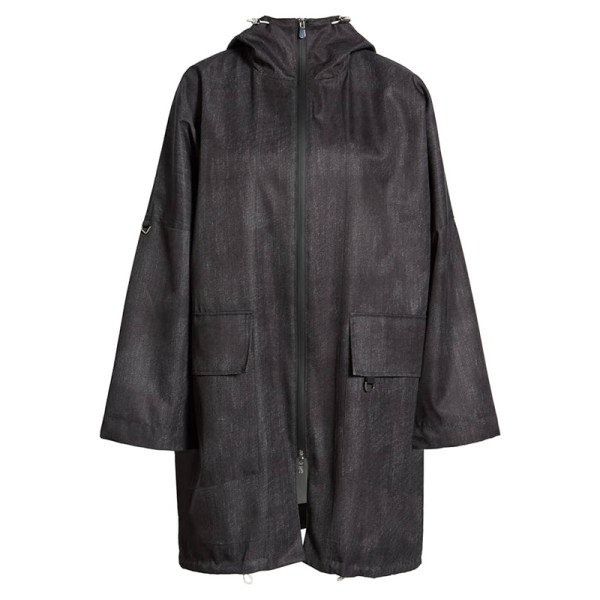 Sosken honor denim rain jacket