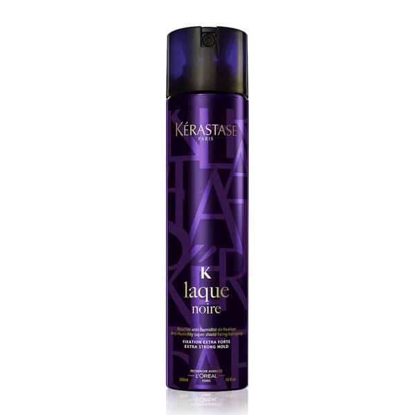 Ke  rastase laque noire strong hold hair spray