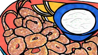 M. Night's Fried Calamari