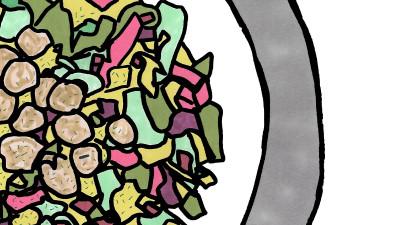 NYC X LA Chopped Salad