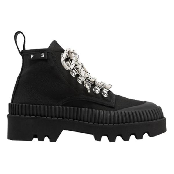 Proenza schouler  cotton canvas ankle boots