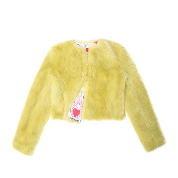 Cropped fox jacket