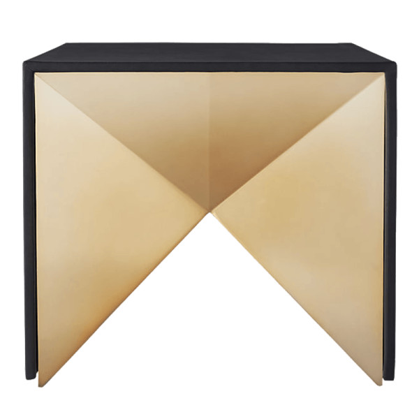 Cb2 nova leather side table