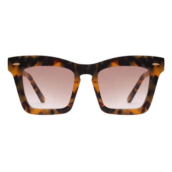 Karen walker banks rectangle acetate sunglasses