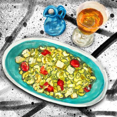 Pesto salad 800x800