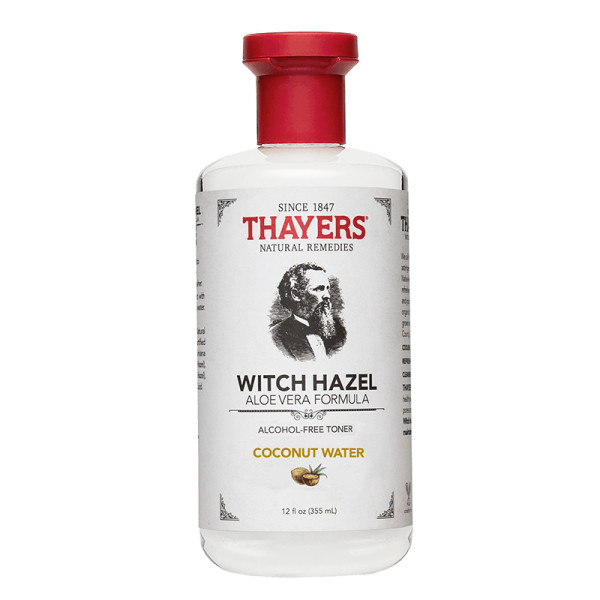 Thayers witch hazel alcohol free toner coconut water