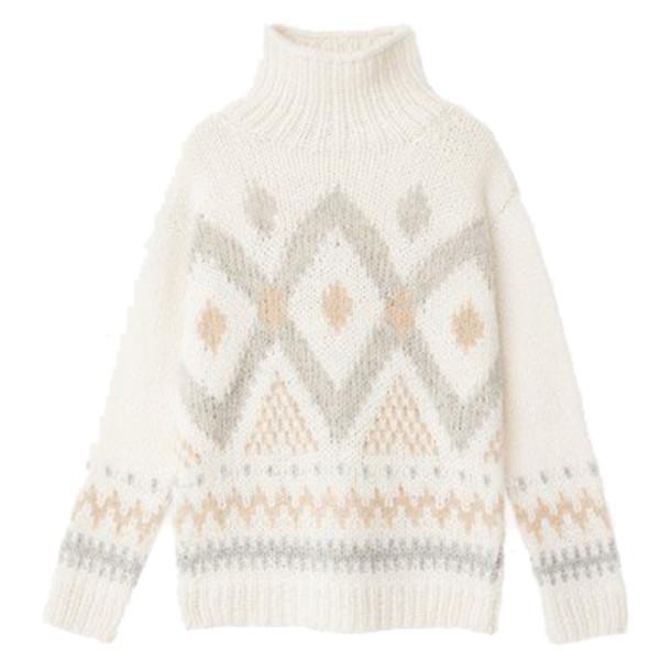 Iris von armin hand knitted sweater strelitzia