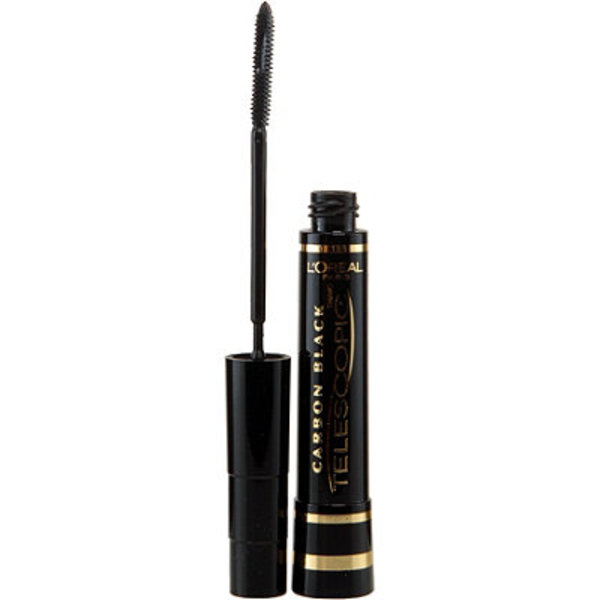 Carbon black mascara