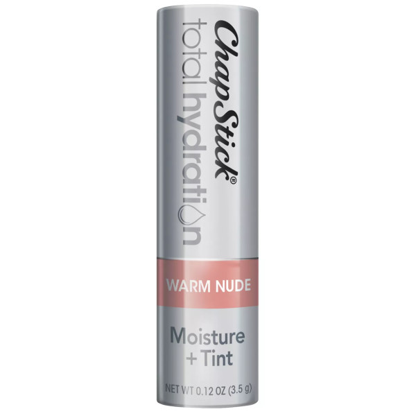 Chapstick total hydration moisture   tinted lip balm in warm nude