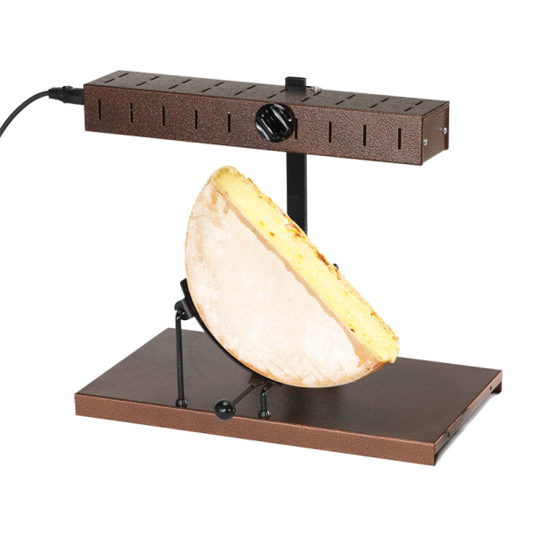 Bron coucke cheese wheel raclette machine