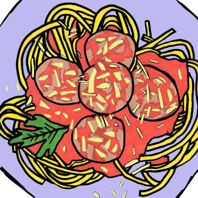 Mondavi Family Meatballs + Spaghetti