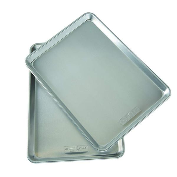 Nordic ware natural aluminum commercial baker s half sheet