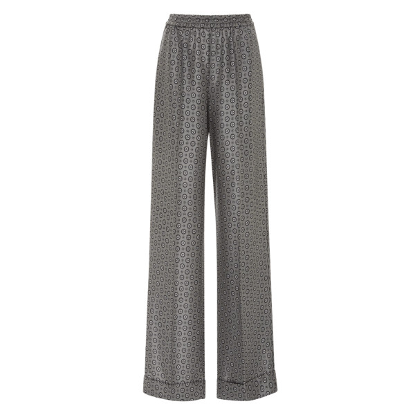 Michael kors collection silk twill foulard pajama pants