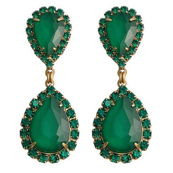 Loren hope abba crystal earring