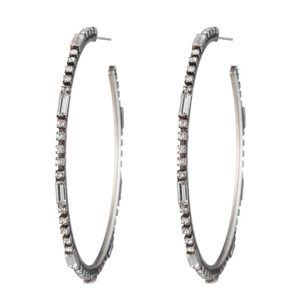 Romi hoop earrings