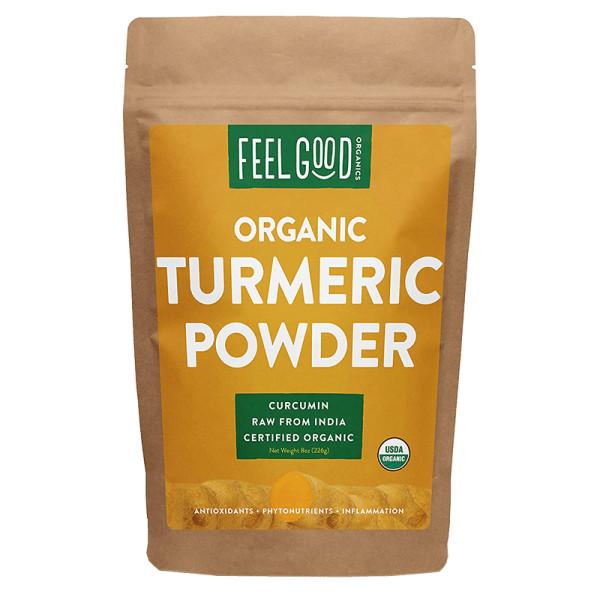 Feel good organics organic turmeric powder