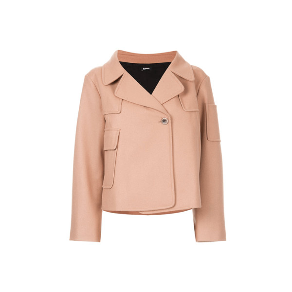 Jil sander navy   beige wool jacket
