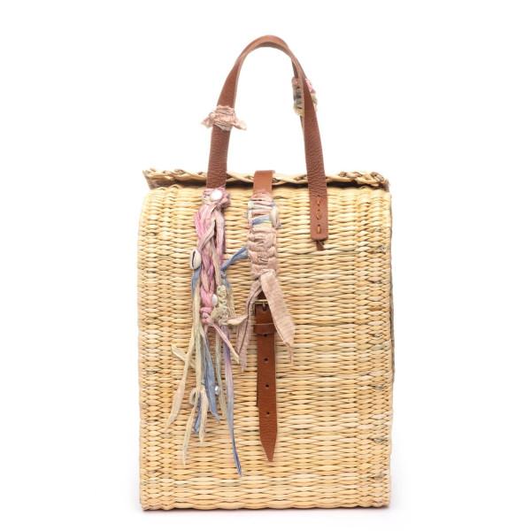 Dannijo becca straw bag