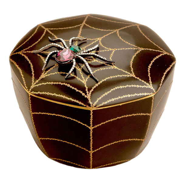 L objet black spider candle