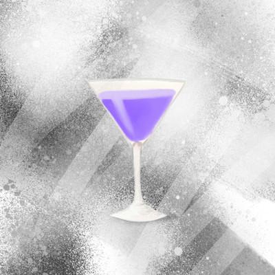 Violet Moon Cocktail