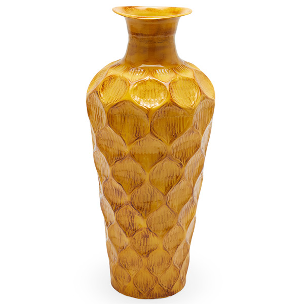 Drew barrymore flower home jamaican yellow floor vase