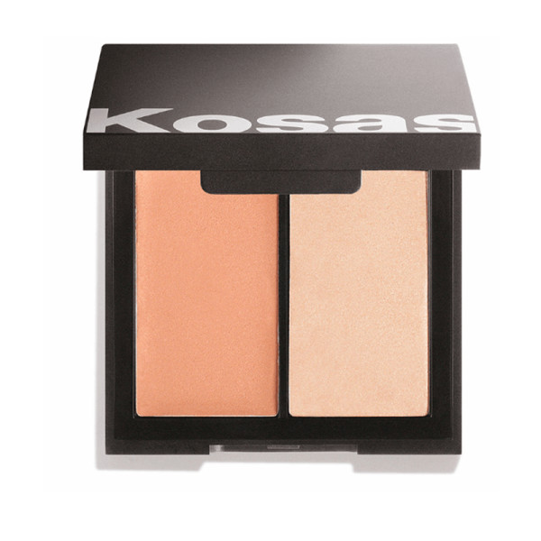 Kosas color   light cre  me cream blush   highlighter duo in tropic equinox