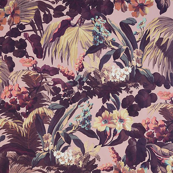 Anthropologie palm wallpaper
