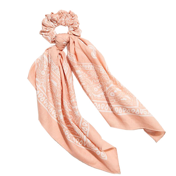 Free people bandana scarf pony