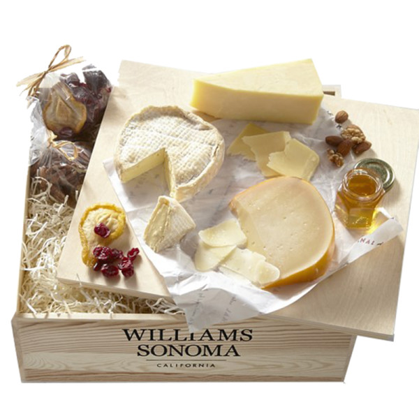 Williams sonoma american road trip cheese gift crate