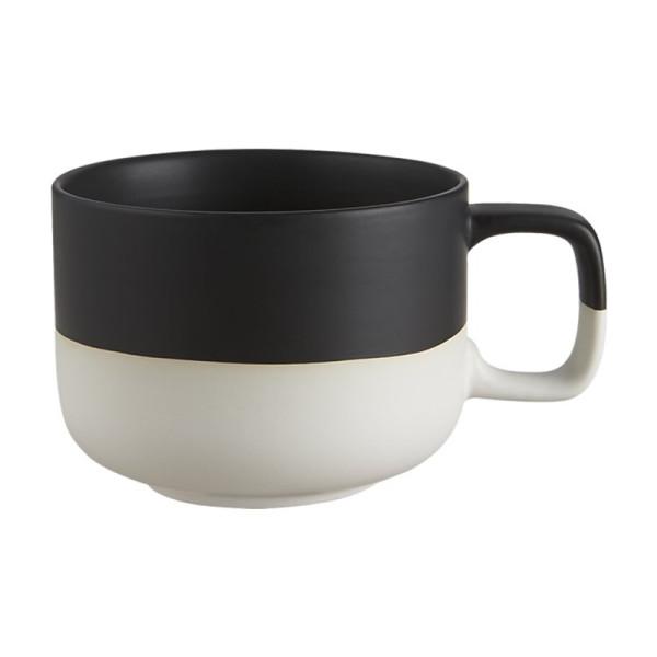 Cb2 black dip coffee mug