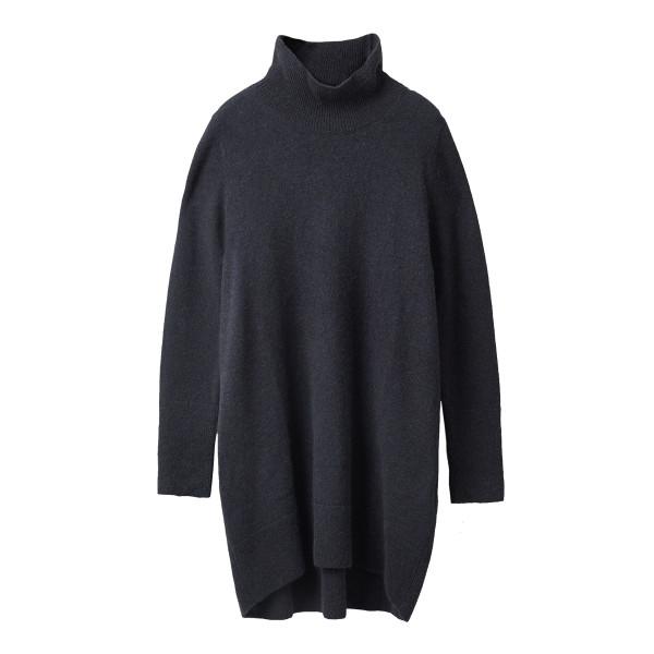 Oversized wool alpaca sweater