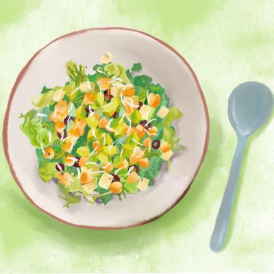 Kale salad  1200x1200