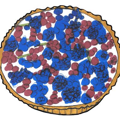 Berry tart 800x800