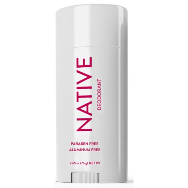 Native deodorant in cranberry and plum
