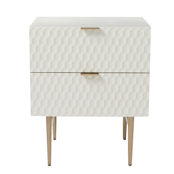 West elm audrey nightstand   parchment