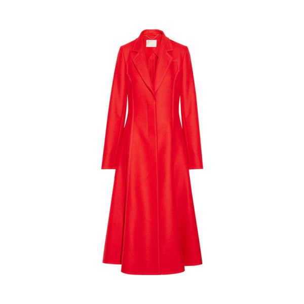 Jason wu   wool blend felt coat