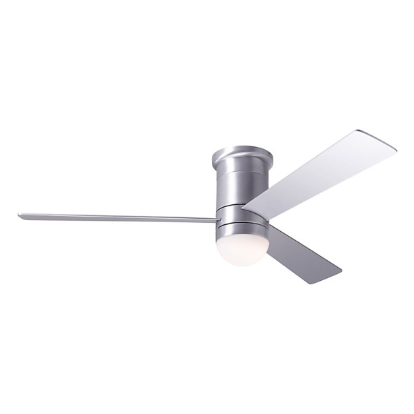 Ron rezek cirrus flush dc ceiling fan with led light and remote