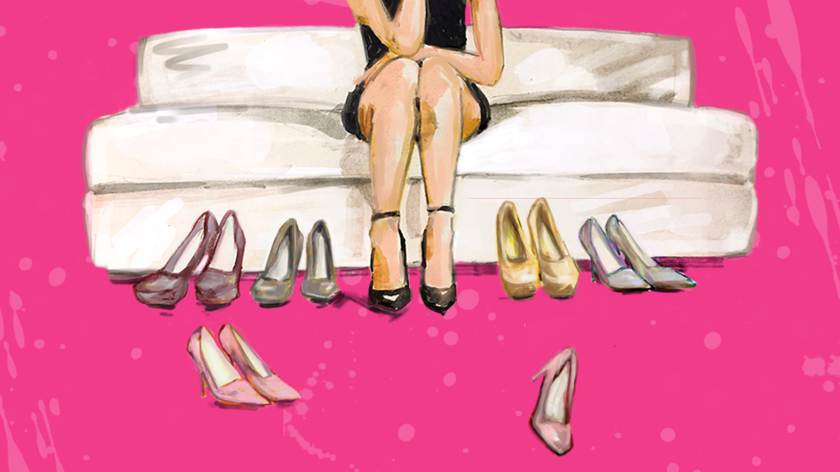 Woman in heels 1200x675