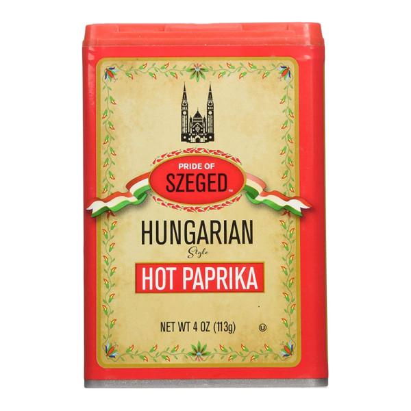 Szeged hot paprika seasoning spice