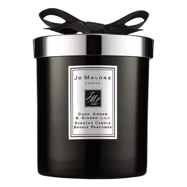 Dark amber   ginger lily home candle