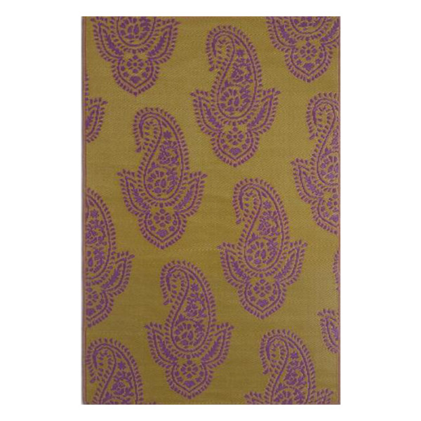 World market paisley urban floor mat