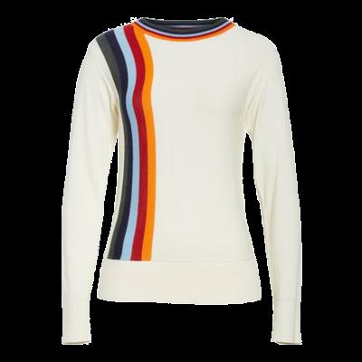 Public school nell stripe cotton blend sweater