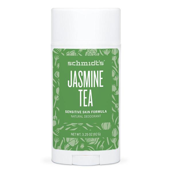 Schmidt s sensitive skin deodorant stick in jasmine tea