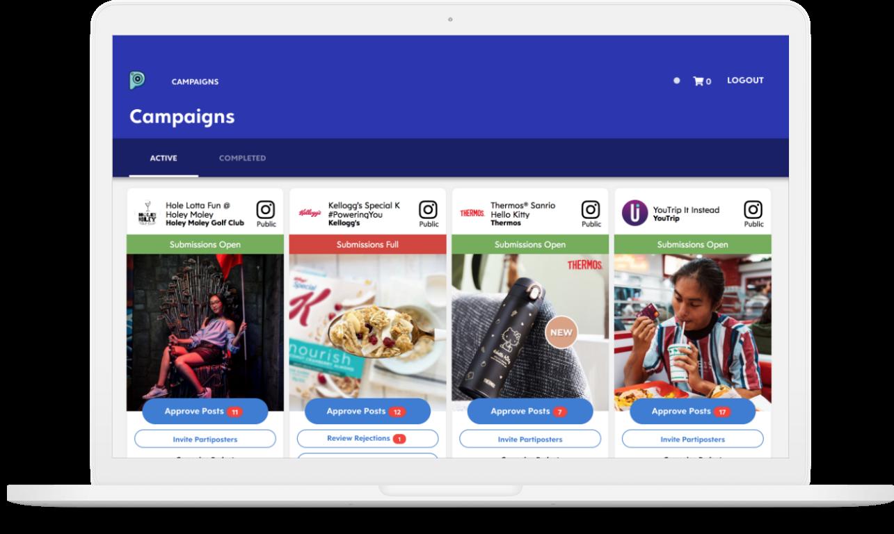 Partipost Singapore - Influencer Marketing Platform   Partipost