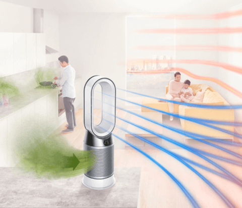 Purificateur d'air Dyson Pure Hot + Cool