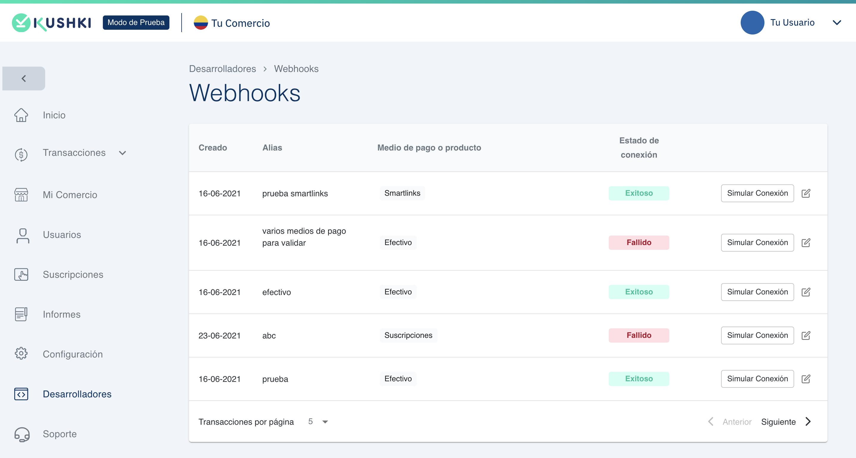 Webhooks_lista